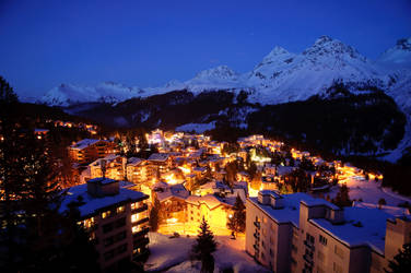 Arosa Evening by Astroandre