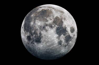 Partial penumbral lunar eclipse Oct 2013