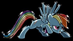 Rainbow Dash Chrome by DuskBrony