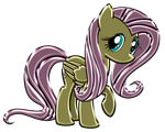 Fluttershy Chrome