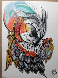 Biomechanical(ish) Owl