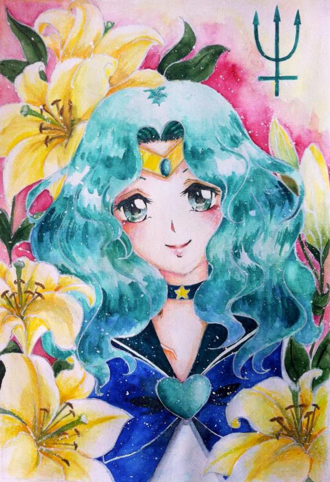 Flower in me - Michiru Kaioh by RinkiYukatari