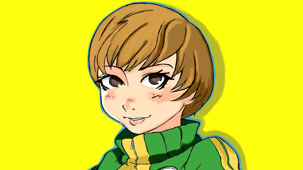 Chie Satonaka Persona 4 by matislender21 on DeviantArt