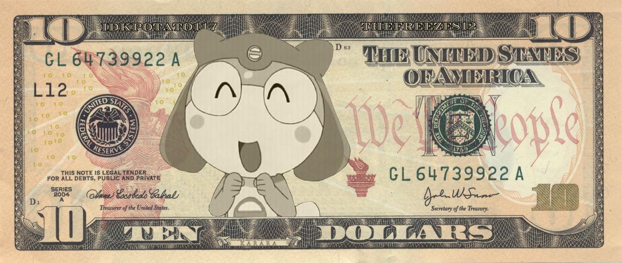Karara $10 Bill by TheFreeze812