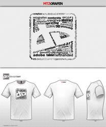 DA T-Shirt Battle Typo Logo by mtzGrafen