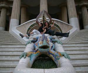 el Drac y sus amazonas