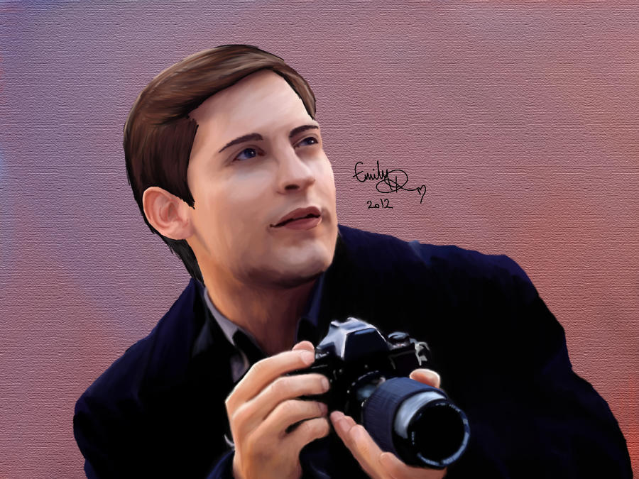 Tobey Maguire's Peter Parker by x-emerlilly-x on DeviantArt Tobey Maguire