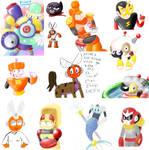 Megaman RM iScribble Dump