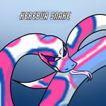 this is the herebua snake.