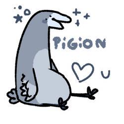 pigeon loves u
