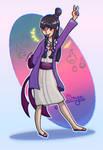Maya! (ace attorney: Phoenix Wright fanart)