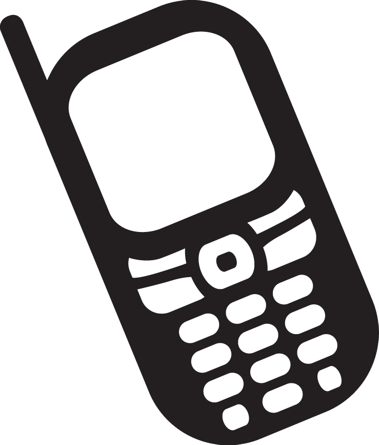 Simple Cellphone Clipart by anubisza on DeviantArt