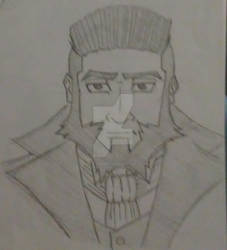 Rickard Character Concept Art 1