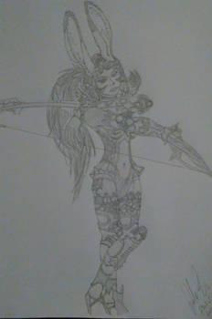 Final Fantasy 12 Character Art: Fran
