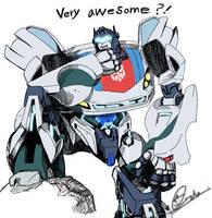 transformers prime Jazz by mcdumb