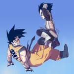 Dragon Ball Z_GoKou_Vejita