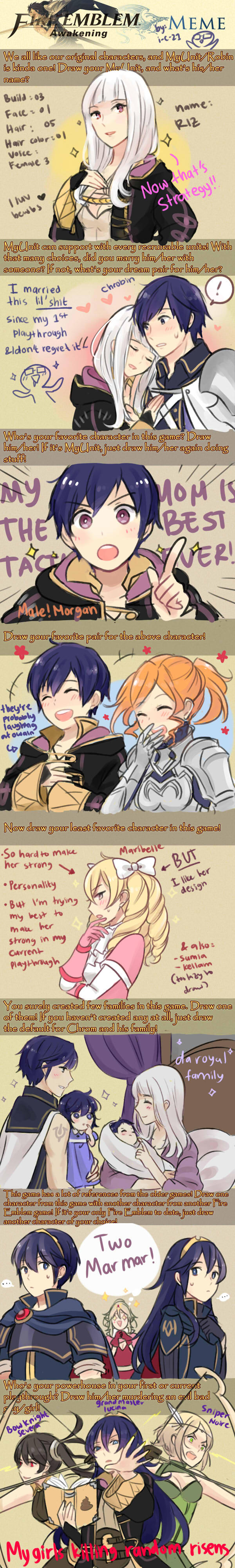 Fire Emblem: Awakening Meme by i-c-21