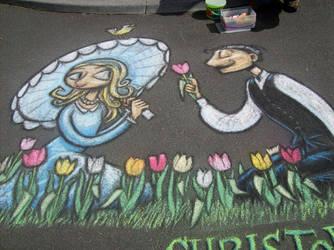 Tulip Festival Drawing 2
