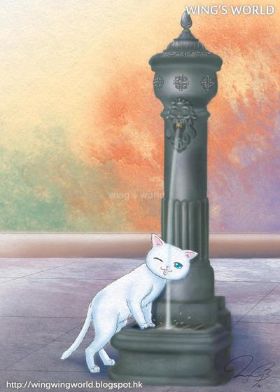 Cat by wingworld