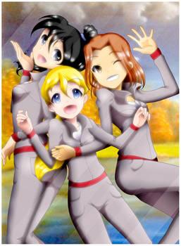 Teen Silverhawks girls