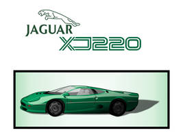 Jaguar XJ220 by GhostHead-Nebula