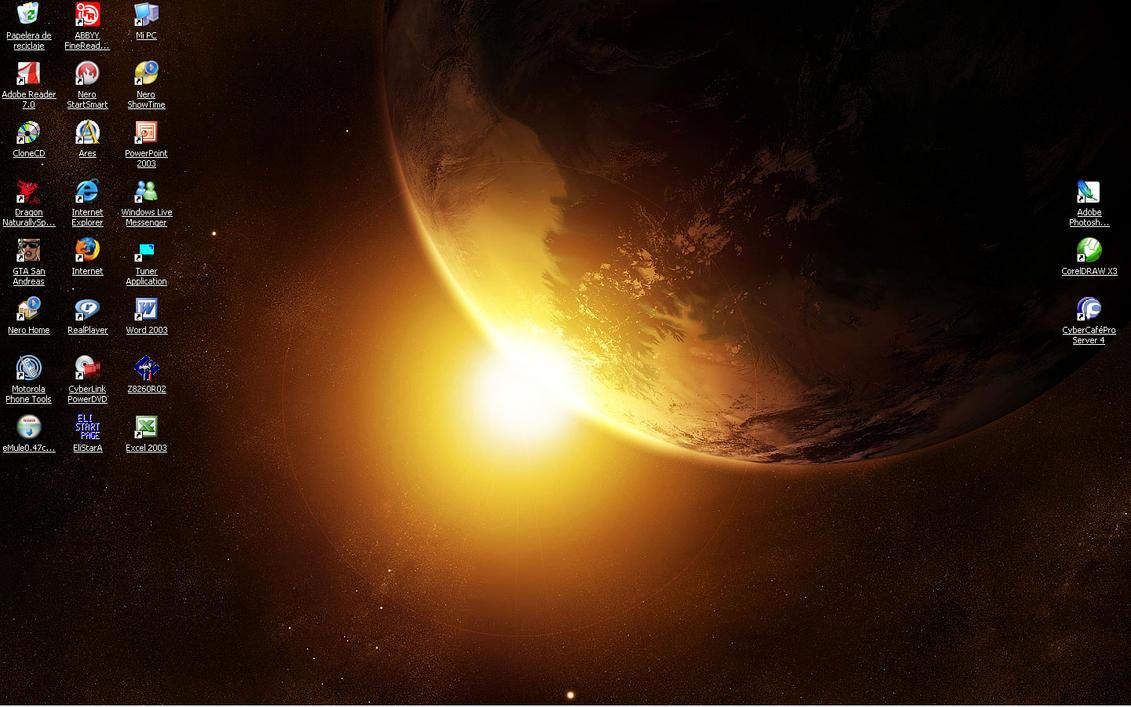 NEWEST DESKTOP by GhostHead-Nebula
