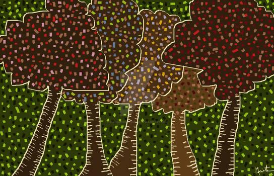 Walk Under The Trees