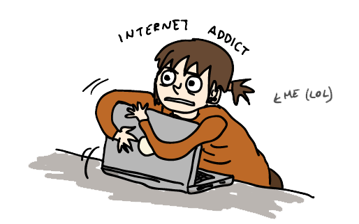 how to get over internet addiction