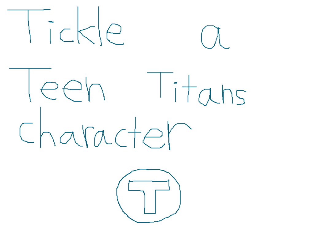 Tickle A Teen Titans Character By Hamonrhydoncena On -7840