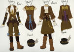 Steampunk Outfits Design