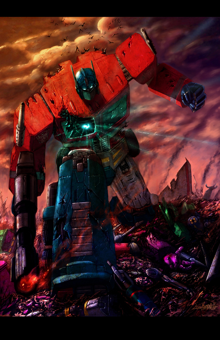 Optimus Prime by LivioRamondelli
