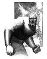 Darkseid by LivioRamondelli