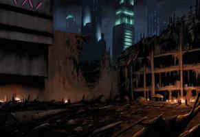 City Slums by LivioRamondelli