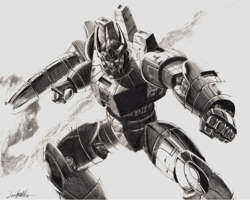Galvatron by LivioRamondelli