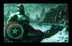 Captain America-Color by LivioRamondelli