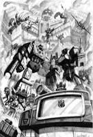 Decepticons by LivioRamondelli