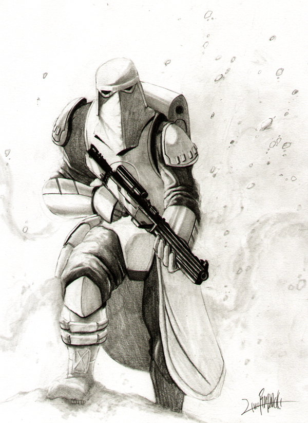 Snowtrooper by LivioRamondelli