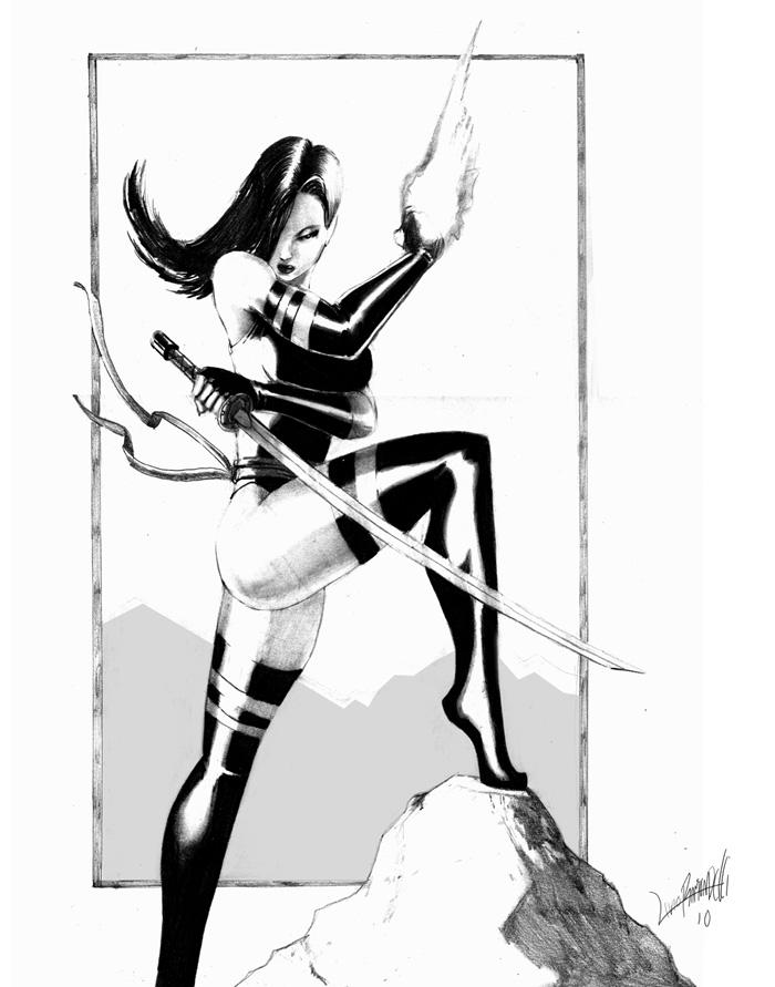 Psylocke by LivioRamondelli
