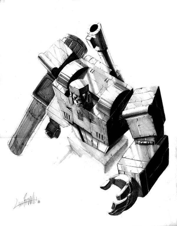 Megatron_torso by LivioRamondelli