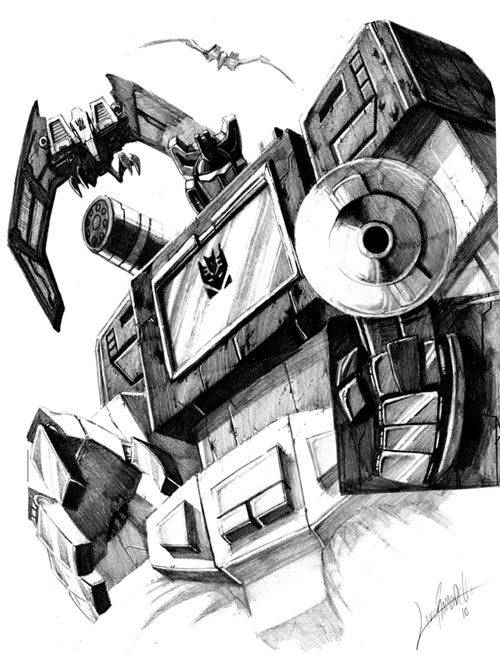 Soundwave_bust by LivioRamondelli