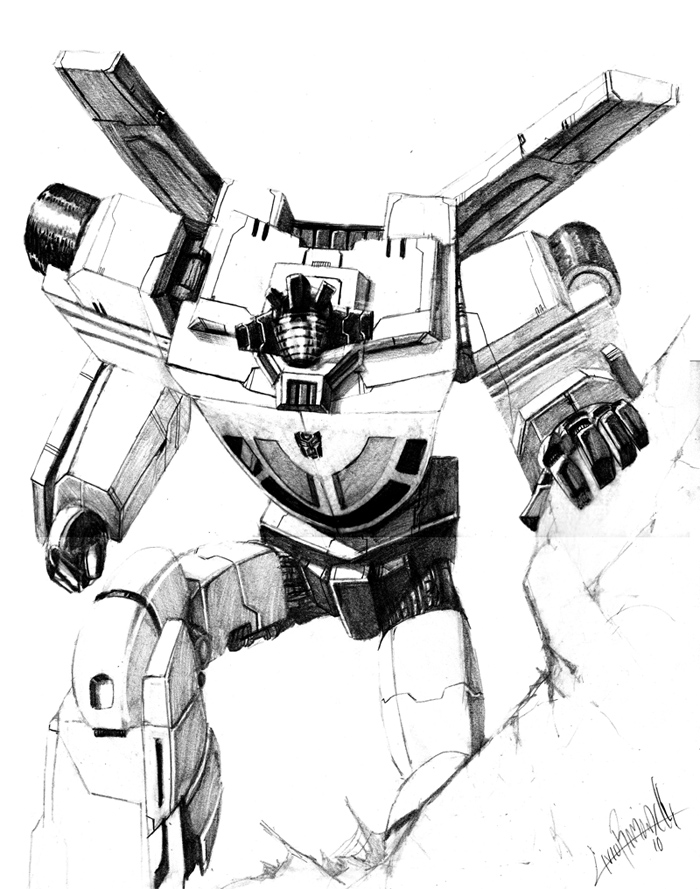 Wheeljack by LivioRamondelli