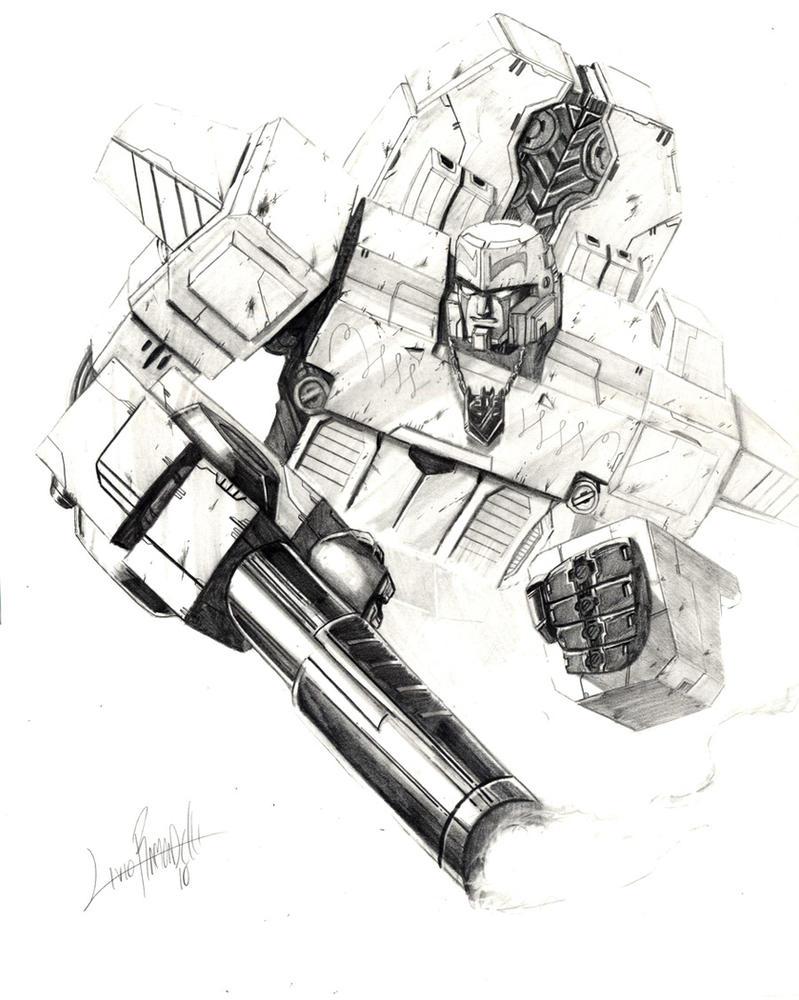 Megatron-Origin version by LivioRamondelli