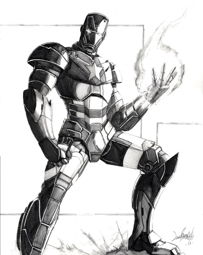 iron patriot by iron patriot by iron man coloring pages sketch template - Iron Man Patriot Coloring Pages