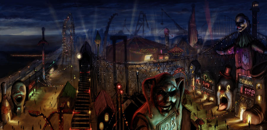 DCU Online-Amusement Mile by LivioRamondelli