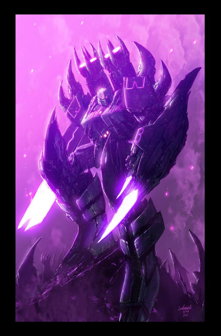Megatron Battle Armor by LivioRamondelli