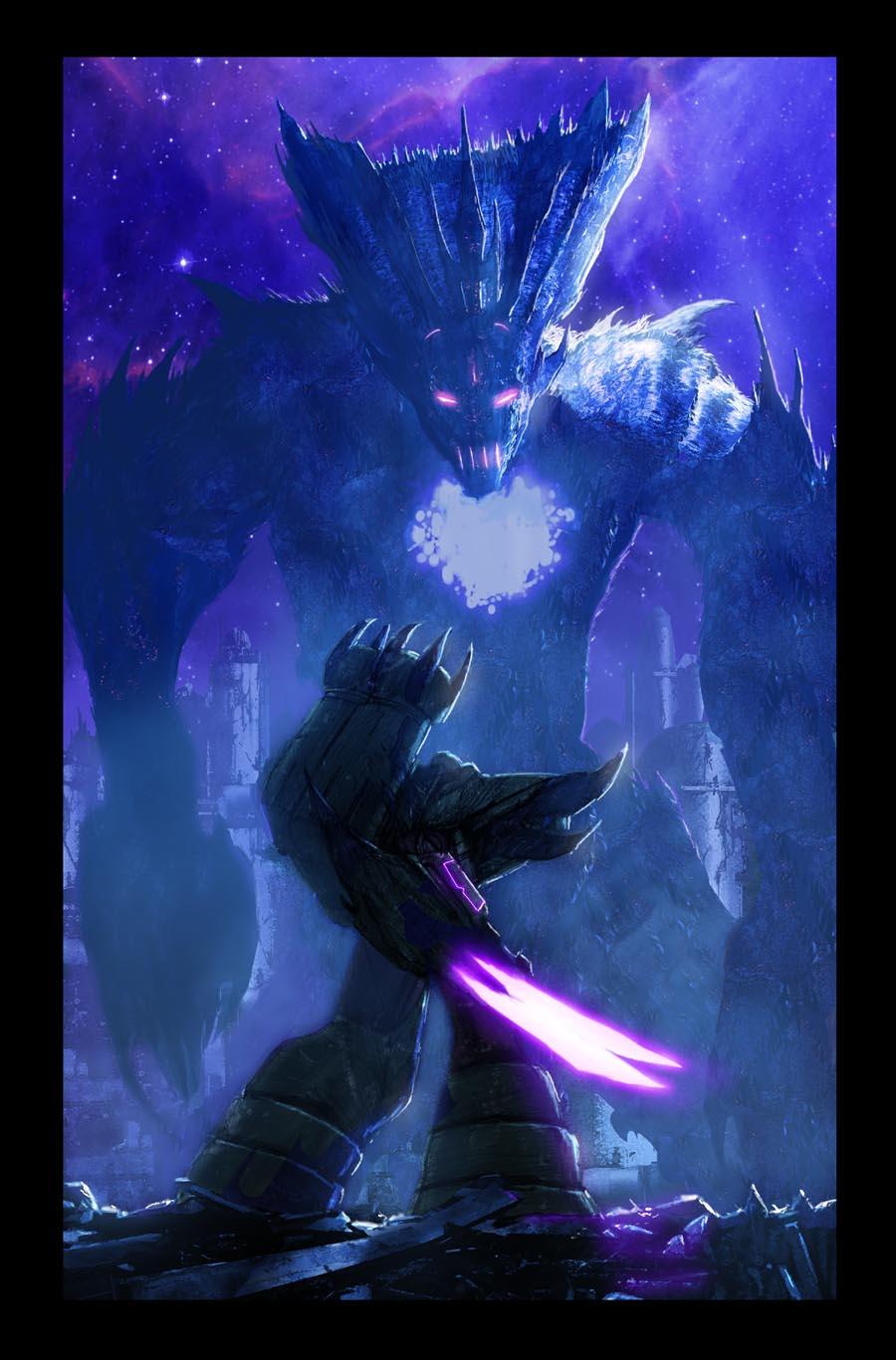 Megatron vs Deceptigod