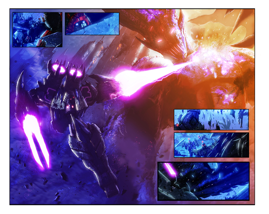Megatron and the Deceptigod