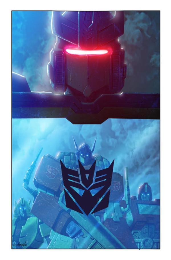 Transformers: Autocracy 3 cover by LivioRamondelli