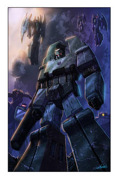 Transformers: Autocracy 4 cover