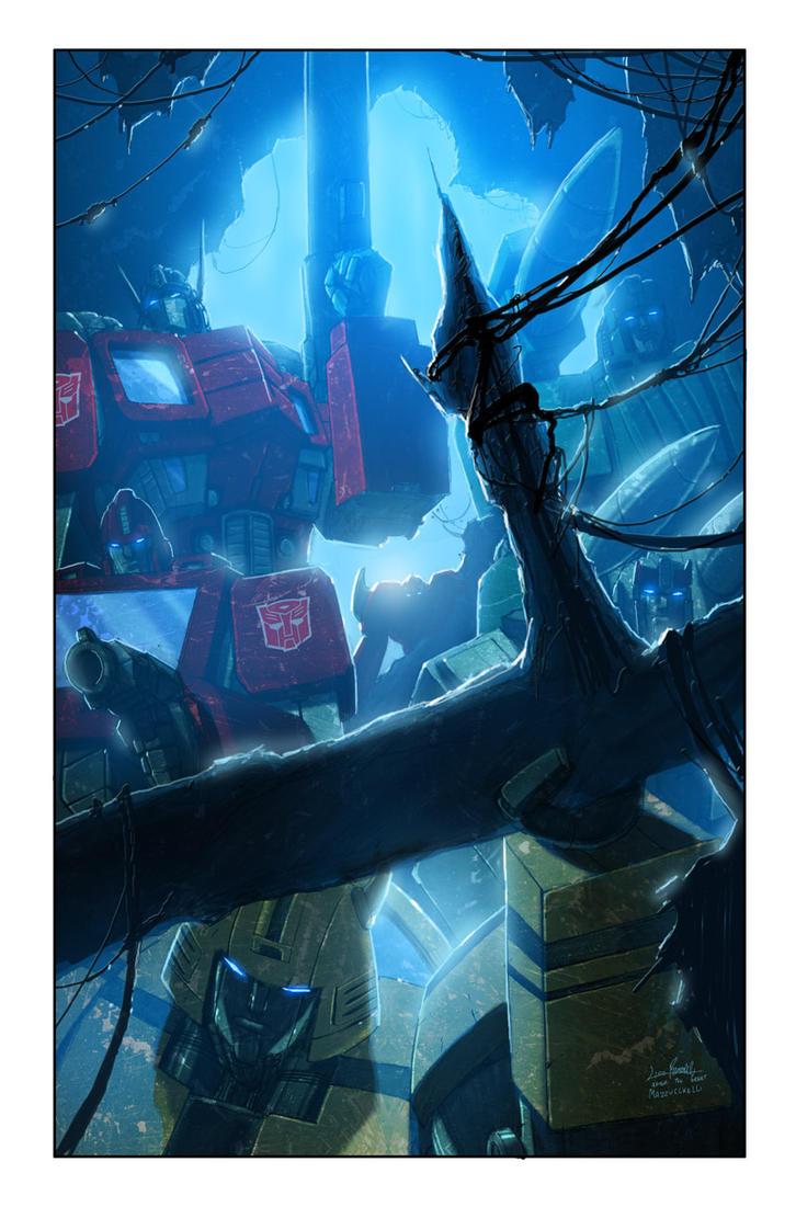 Transformers: Autocracy 5 cover by LivioRamondelli
